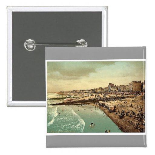 Del embarcadero, vintage Photochro de Brighton, In Pin