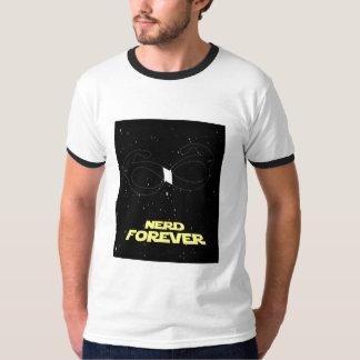 del empollón camisa para siempre