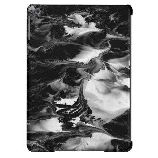 ~ del ENCANTAMIENTO (arte abstracto negro y Funda Para iPad Air