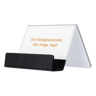 Del escritorio de visita de la tarjeta del tenedor caja de tarjetas de visita para escritorio