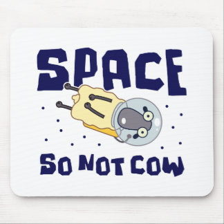 Del espacio ovejas de la vaca tan no tapetes de ratón