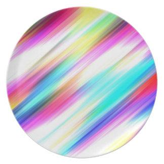 ~ del ESPECTRO (un placer coloreado arco iris!) Platos Para Fiestas