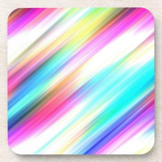 ~ del ESPECTRO (un placer coloreado arco iris!) Posavasos De Bebida