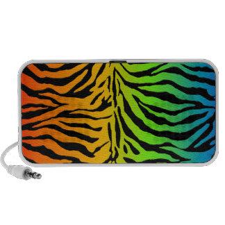 ♥♥♥♥ del estampado de zebra de PixDezines iPhone Altavoz