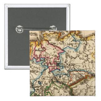Del este - mapa europeo pins