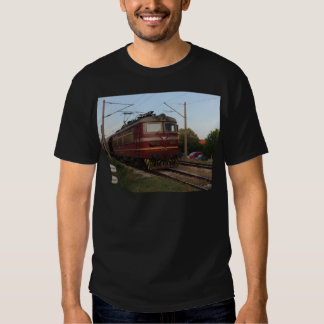 Del este - tren de mercancías europeo camisas