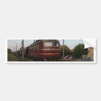 Del este - tren de mercancías europeo pegatina para auto
