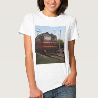 Del este - tren de mercancías europeo playera