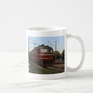 Del este - tren de mercancías europeo taza clásica