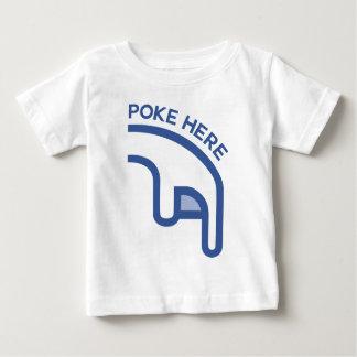 del facebook del EMPUJE dedo aquí Camiseta