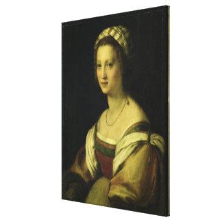 Del Fede, la esposa del artista, C. de Lucrezia di Lona Estirada Galerias