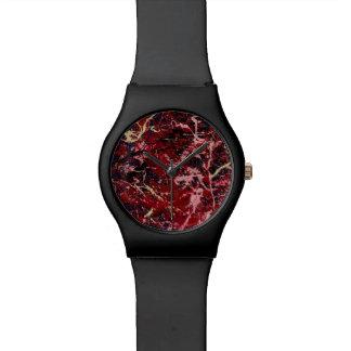 Del FLASH ~ TAMBIÉN (un diseño del arte abstracto) Relojes De Pulsera