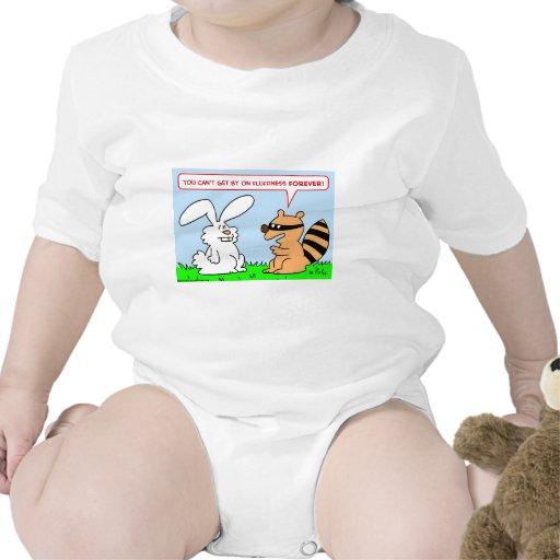 del fluffiness mapache del conejo para siempre trajes de bebé