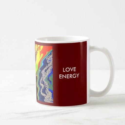 Del fuego volcán espiritual dentro - tazas de café