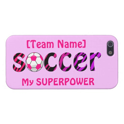 ~ del fútbol mi SUPERPOTENCIA iPhone 5 Carcasa