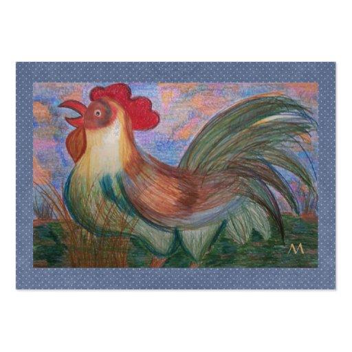 Del gallo de la cocina - tarjeta de regalo por SRF Plantillas De Tarjetas Personales