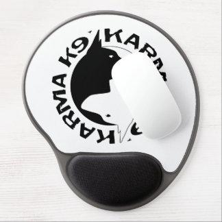 Del gel Mousepad de las karmas K9 pipe Alfombrillas Con Gel