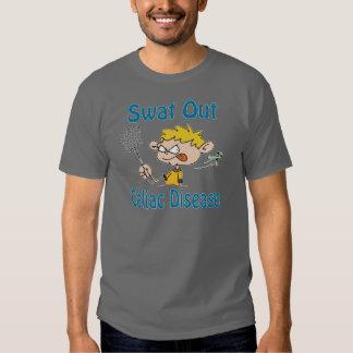 Del golpe violento camisa de la Celiaco-Enfermedad