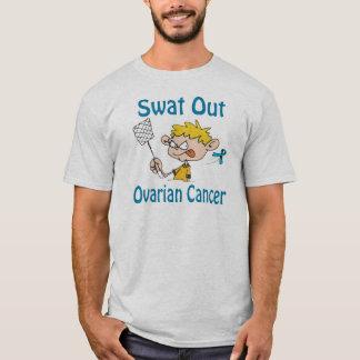 Del golpe violento camisa del Ovárico-Cáncer hacia