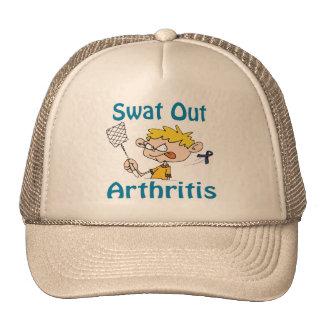 Del golpe violento gorra de la artritis hacia fuer