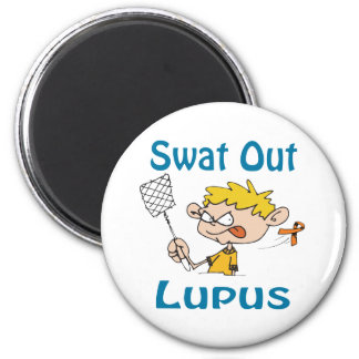 Del golpe violento imán del lupus hacia fuera