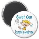 Del golpe violento imán del Tourette'S-Síndrome ha