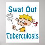 Del golpe violento poster de la tuberculosis hacia