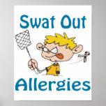Del golpe violento poster de las alergias hacia fu