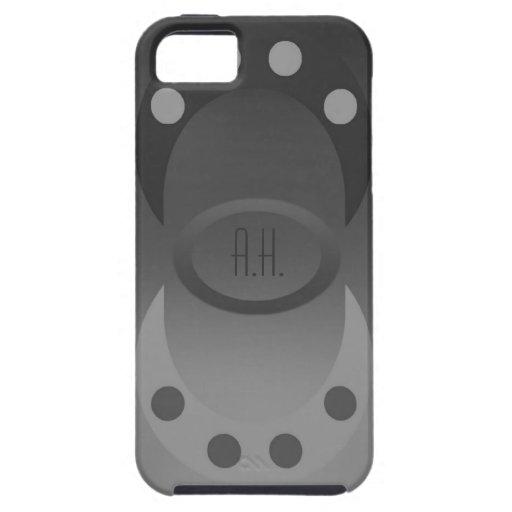 Del gris caso de encargo del iPhone 5 hacia fuera iPhone 5 Case-Mate Carcasa