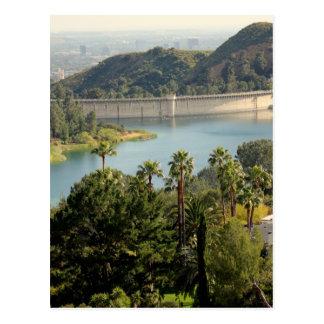 Del Hollywood Hills Tarjeta Postal