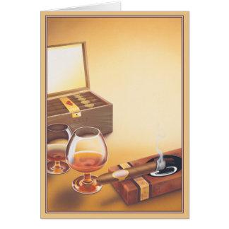 © del humo tarjeta de felicitación