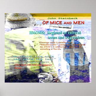 Del idioma de los ratones y de los hombres impresiones