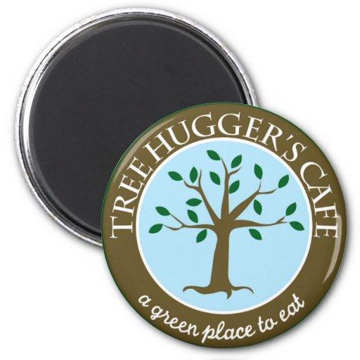^__^ del imán del café de Hugger del árbol