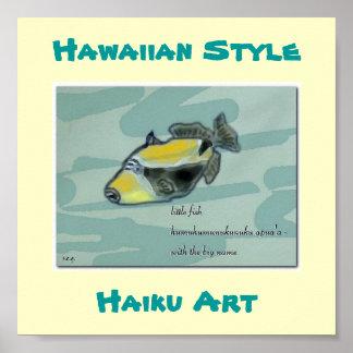 Del impresión hawaiana del arte apua a de Humuhum Impresiones