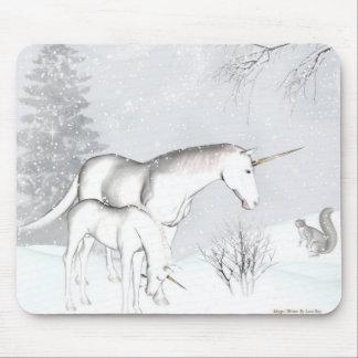del invierno mousepad Uni Tapete De Raton