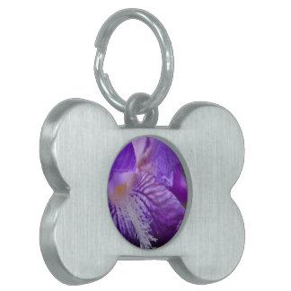 Del iris cierre para arriba placas mascota