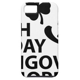 del irlandés día hungover de los ´s de St Patrick Funda Para iPhone 5 Tough