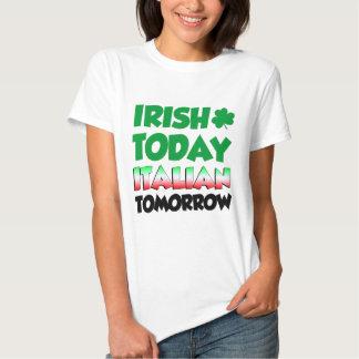 Del irlandés italiano hoy mañana poleras