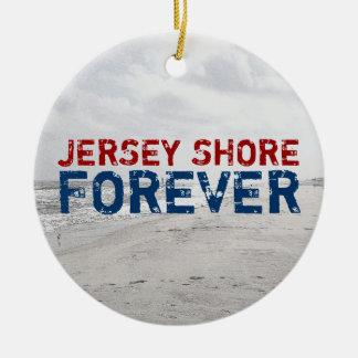 Del jersey de la orilla ornamento del navidad para ornamento para reyes magos