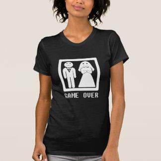 Del juego blanco encima - camiseta