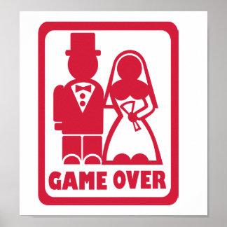 Del juego boda encima - poster