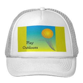 Del juego gorra al aire libre