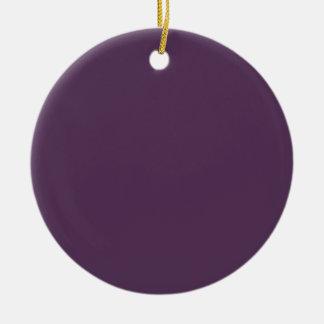 ~ del JUGO de UVA (un color de color morado oscuro Adorno Redondo De Cerámica