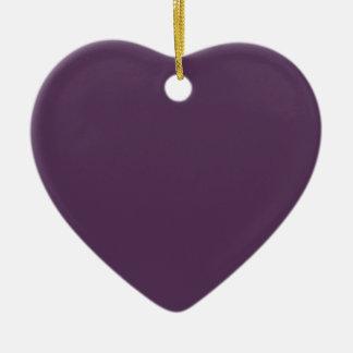 ~ del JUGO de UVA (un color de color morado oscuro Adorno De Cerámica En Forma De Corazón