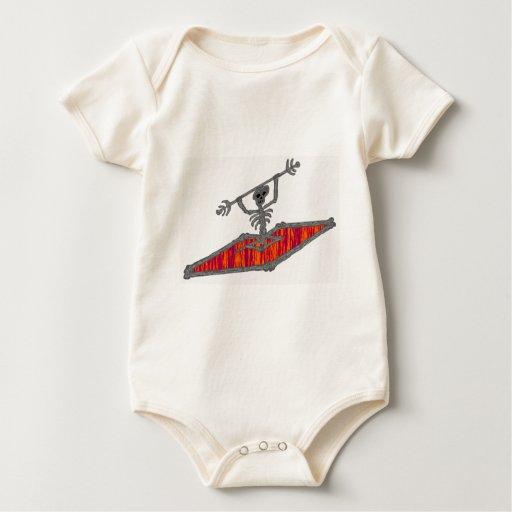 Del kajak placer tan body para bebé