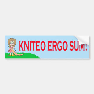 del kniteo suma ergo etiqueta de parachoque