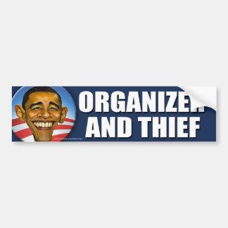 del ladrón de Obama pegatina para el parachoques a Pegatina Para Auto