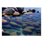 Del lago Tahoe todavía del invierno agua 2 Posters