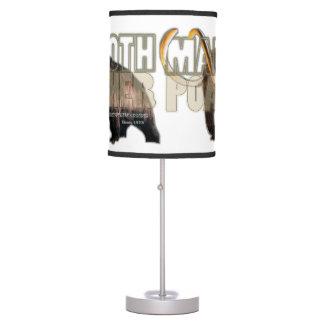 """Del """"lámpara de mesa CAZADOR FURTIVO del MAMOTH"""" d Lámpara De Mesilla De Noche"""