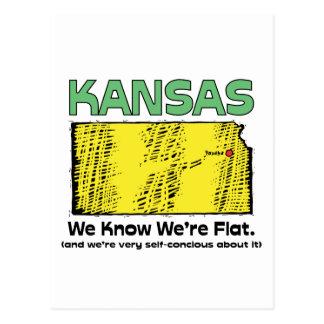 ~ del lema de Kansas KS que sabemos que somos Tarjeta Postal